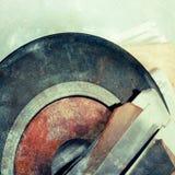 Abstracte muziekachtergrond Stock Foto