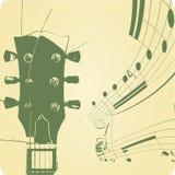 Abstracte muzikale lijnen Royalty-vrije Stock Afbeelding