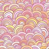 Abstracte naadloze achtergrond die uit kleurrijke geometrische sh bestaan Stock Afbeelding