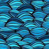 Abstracte naadloze achtergrond die uit kleurrijke geometrische sh bestaan Royalty-vrije Stock Afbeelding
