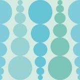 Abstracte naadloze achtergrond met kleurrijke rondes Achtergrond voor een uitnodigingskaart of een gelukwens Royalty-vrije Stock Fotografie