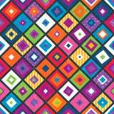 Abstracte naadloze achtergrond met vierkanten. stock illustratie