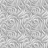 Abstracte naadloze achtergrond Witte krommen met schaduwen royalty-vrije illustratie