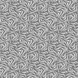 Abstracte naadloze achtergrond Zilveren krommen met schaduwen royalty-vrije illustratie