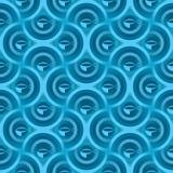 Abstracte naadloze blauwe achtergrond royalty-vrije illustratie
