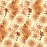 Abstracte naadloze bloemenachtergrond. Royalty-vrije Stock Afbeeldingen