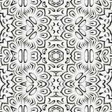 Abstracte naadloze bloemenachtergrond Stock Afbeeldingen