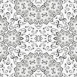 Abstracte naadloze bloemenachtergrond Stock Foto's