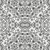 Abstracte naadloze bloemenachtergrond Stock Afbeelding