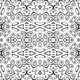Abstracte naadloze bloemenachtergrond Royalty-vrije Stock Foto's