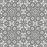 Abstracte naadloze bloemenachtergrond Stock Fotografie