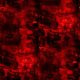 Abstracte naadloze de kunsttextuur van het kunstenaars rode kubisme Stock Afbeeldingen