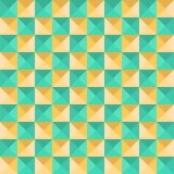 Abstracte naadloze geometrische achtergrond Stock Afbeelding