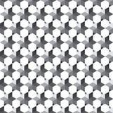 Abstracte naadloze geometrische bloemenpatroonachtergrond royalty-vrije illustratie