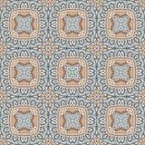 Abstracte naadloze geometrische druk Royalty-vrije Stock Afbeelding