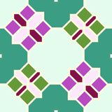 Abstracte naadloze geometrische patronen Stock Foto's