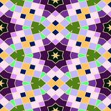 Abstracte naadloze geometrische patronen Stock Foto