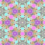 Abstracte naadloze geometrische patronen Royalty-vrije Stock Foto's