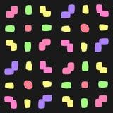Abstracte naadloze geometrische patronen Naadloze caleidoscoop Royalty-vrije Stock Fotografie