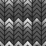 Abstracte naadloze geometrische waterverfchevron Royalty-vrije Stock Foto