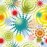 Abstracte naadloze kleurrijke achtergrond Stock Afbeelding