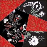 Abstracte naadloze lapwerktegel met bloemenornament Arabisch of vector illustratie