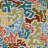 Abstracte naadloze patroonachtergrond Stock Fotografie