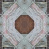 Abstracte naadloze patroonachtergrond Houten parket Stock Afbeelding