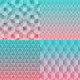 Abstracte naadloze patroonachtergronden vector illustratie