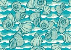 Abstracte naadloze textuur. Stock Foto's