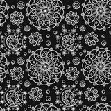 Abstracte naadloze textuur Stock Afbeeldingen