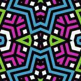 Abstracte naadloze textuur of achtergrond met zwarte lijnen Royalty-vrije Stock Afbeelding