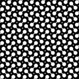 Abstracte naadloze textuur - ringen Stock Afbeelding
