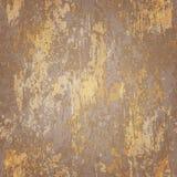 Abstracte naadloze textuur van geroest metaal royalty-vrije illustratie
