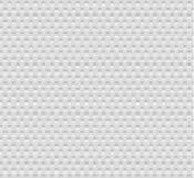 Abstracte naadloze witte achtergrond met cirkels, eps10 Royalty-vrije Stock Afbeeldingen