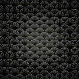 Abstracte naadloze zwart-witte achtergrond Royalty-vrije Stock Foto's