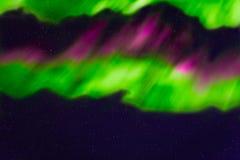 Abstracte nachthemel met sterren en dageraadachtergrond Royalty-vrije Stock Foto