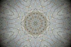 Abstracte netto mandala van het netwerknet Stock Foto
