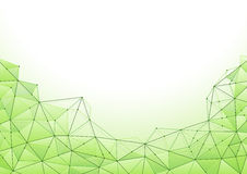 Abstracte netwerkachtergrond Stock Afbeelding