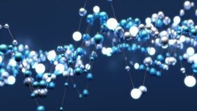 Abstracte neurale netto royalty-vrije illustratie