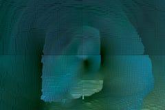 Abstracte niet-objectieve illustratie vector illustratie