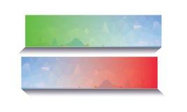 Abstracte Nieuwe Banner Stock Foto