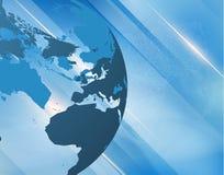 Abstracte nieuws vectorachtergrond EPS10 Stock Foto's