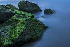 Abstracte Oceaanachtergrond Stock Afbeelding