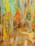 Abstracte Olie royalty-vrije stock afbeeldingen