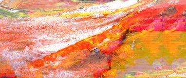 Abstracte olie Stock Fotografie