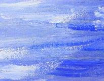 Abstracte olieverfschilderijachtergrond Stock Afbeeldingen
