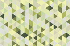 Abstracte Olive Green Polygon Geometric Background het 3d teruggeven Royalty-vrije Stock Foto