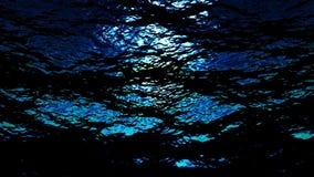 Abstracte onderwater oceaangolven - Water FX0312 HD royalty-vrije illustratie