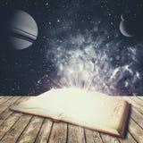 Abstracte onderwijs en wetenschapsachtergronden stock foto's
